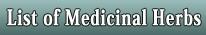 LIST OF MEDICINAL HERBS, BUTTON